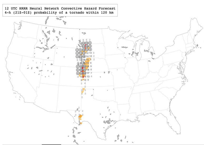 A forecast for tornadoes