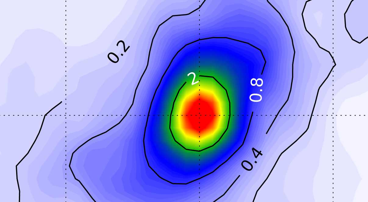 Future storms will drop higher volumes of rain -- image of mesoscale convective system