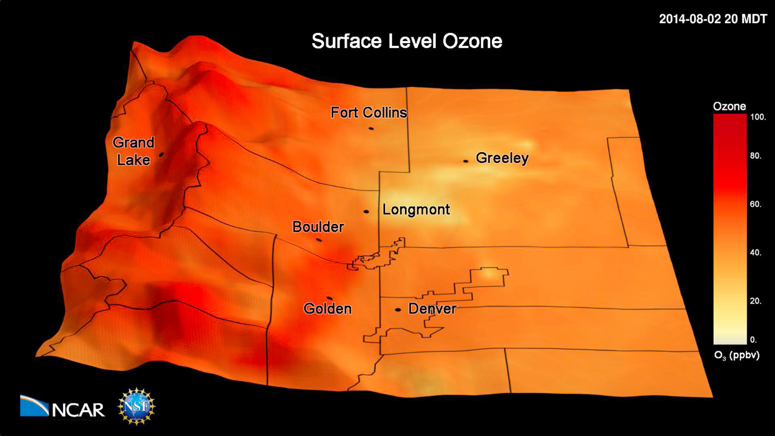 Surface ozone on the Front Range
