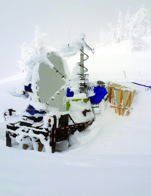 The Doppler on Wheels radar used in the SNOWIE cloud-seeding experiment