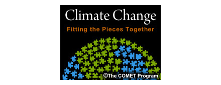 Logo for Climate Change, Comet