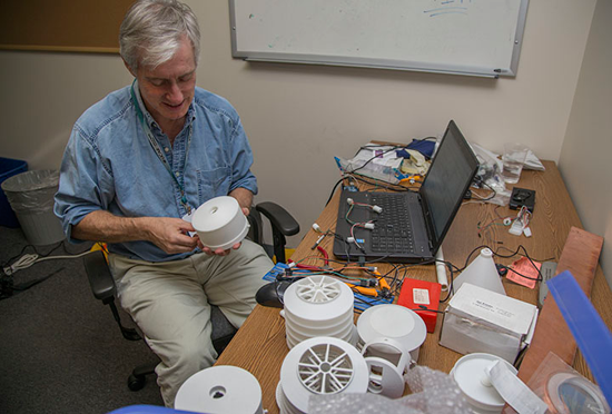 UCAR is turning to 3D printing technology to create low-cost weather stations.