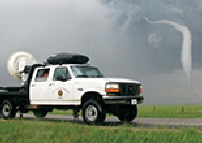 A W-band radar capturing the end stages of the 5 June tornado