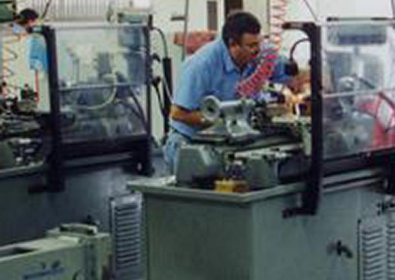 NCAR's skilled machinists work on research instruments