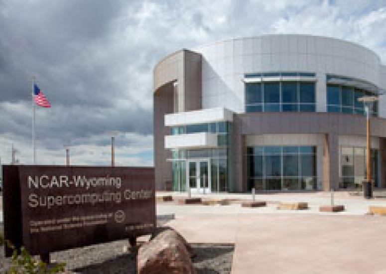 NCAR-Wyoming Supercomputing Center exterior