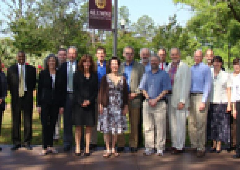 Group photo of PACUR members at Florida State University, 2011