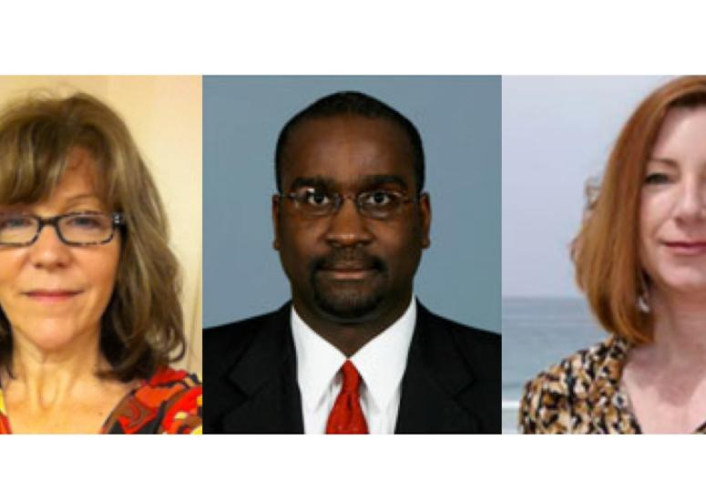 Picture of the three new UCAR trustees.