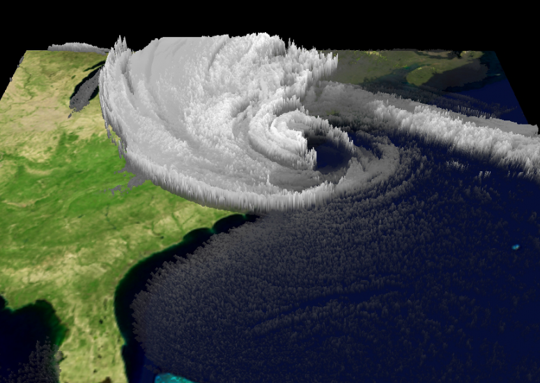 UCAR to support EarthCube: Computer simulation of Hurricane Sandy