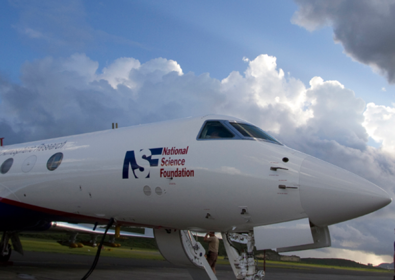 NSF/NCAR Gulfstream V: Advanced research aircraft to help with hurricane forecasts