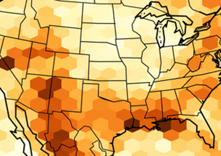 Climate change: U.S. map shows expected increase in extreme precipitation during summer