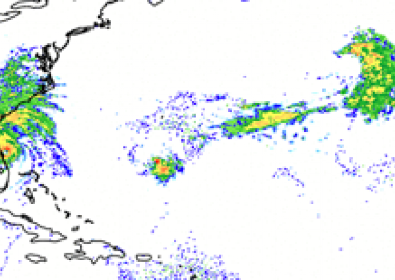 Hurricane Matthew simulation by NCAR MPAS model