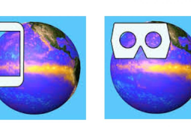 NCAR Meteo VR and AR apps: virtual and augmented reality