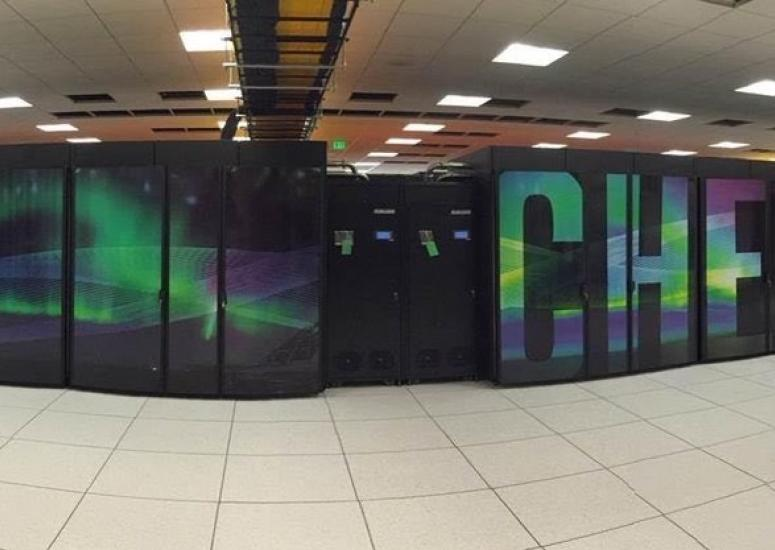 Cheyenne supercomputer