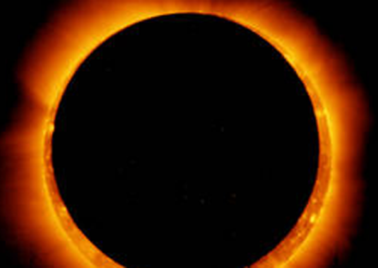 Scientists announce eclipse projects: NASA image of solar eclipse