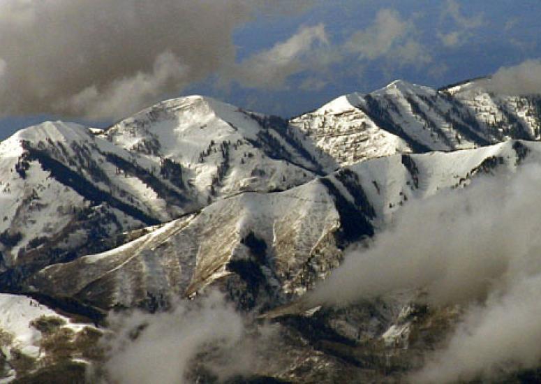 snowpack in the Rockies