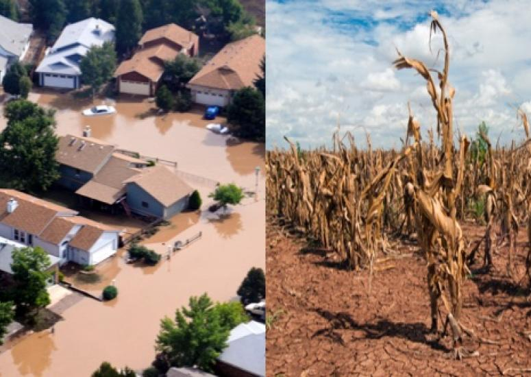A flood in Colorado, a drought in Texas