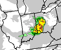 ARW output showing derecho over Ohio on June 29, 2012
